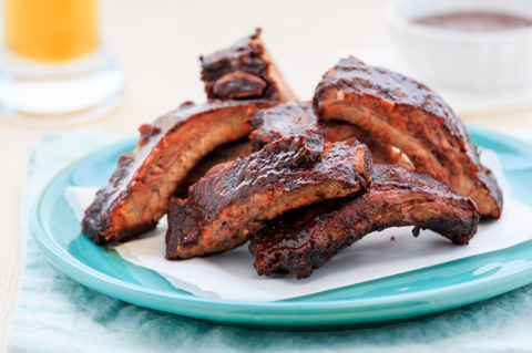 ... it all grilled barbecue spare ribs are dry rubbed grilled dr pepper