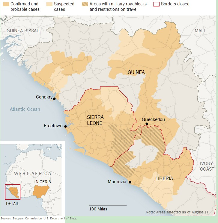 Ebola Outbreak History and Statistics MDHealthcom