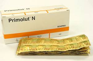 Primolut n tablet dosage