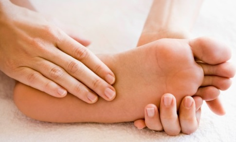 constant pins and needles in feet